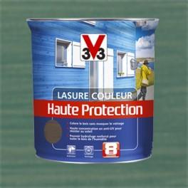 V33 Lasure Couleur Haute protection 8ans Vert provence