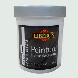 LIBÉRON Peinture à base de Caséine 0,5L Gris voilé
