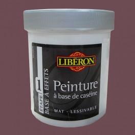 LIBÉRON Peinture à base de Caséine 0,5L Rose stylé