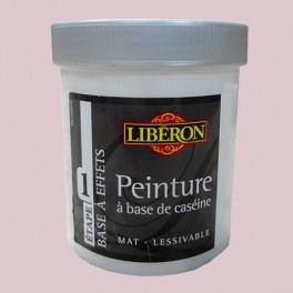 LIBÉRON Peinture à base de Caséine 0,5L Rose caraco