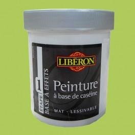 LIBÉRON Peinture à base de Caséine 0,5L Vert pop