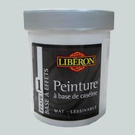 LIBÉRON Peinture à base de Caséine 0,5L Gris Nuée