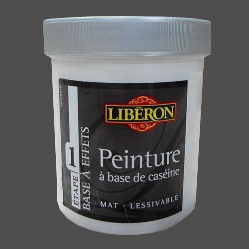 LIBÉRON Peinture à base de Caséine 0,5L Cuir brûlé
