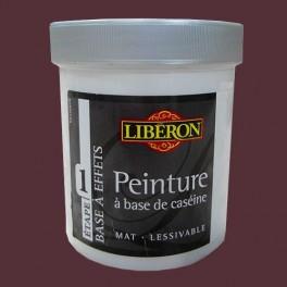 LIBÉRON Peinture à base de Caséine 0,5L Aubergine