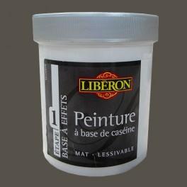 LIBÉRON Peinture à base de Caséine 0,5L Feutre brun