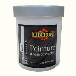 LIBÉRON Peinture à base de Caséine 0,5L Crème