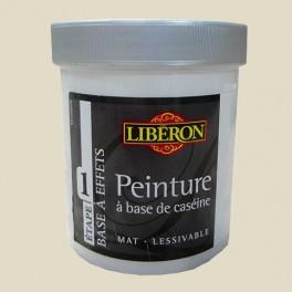 LIBÉRON Peinture à base de Caséine 0,5L Argile