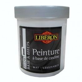 LIBÉRON Peinture à base de Caséine 0,5L Blanc albâtre