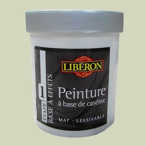 LIBÉRON Peinture à base de Caséine 0,5L Vert à soie