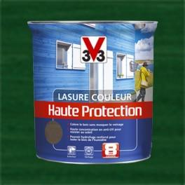 V33 Lasure Couleur Haute protection 8ans Vert Basque