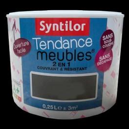 SYNTILOR Peinture Tendance Meubles Effet Laqué Noir