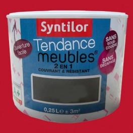 SYNTILOR Peinture Tendance Meubles Effet Laqué Rouge Corail