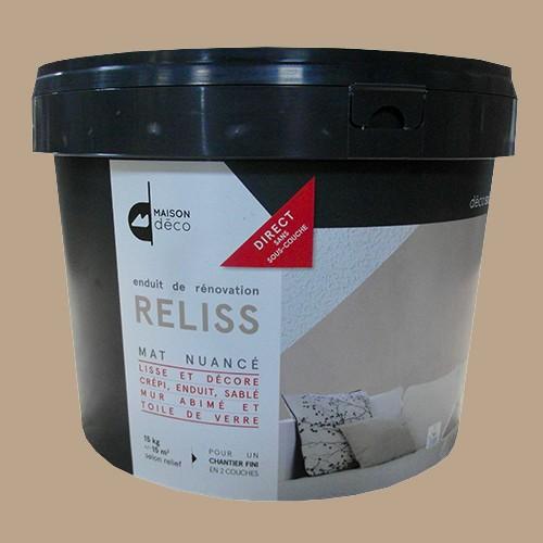 Maison Déco Maison Déco   Enduit De Rénovation RELISS 15kgs Ficelle ...
