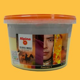 ALPINA Peinture acrylique Mate America Authentic 2,5L