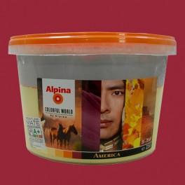 ALPINA Peinture acrylique Mate America Contrast 2,5L