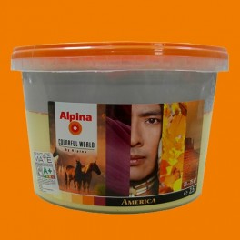 ALPINA Peinture acrylique Mate America Rich 2,5L