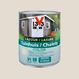 V33 Lasure Chalets Color Salar grey