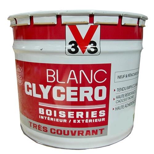 V Blanc Glycro Boiseries Mat Pas Cher En Ligne