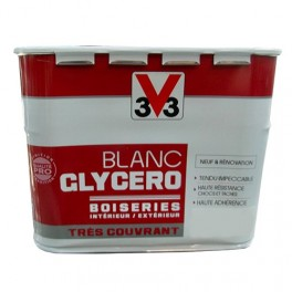 V33 Blanc Glycéro Boiseries Mat