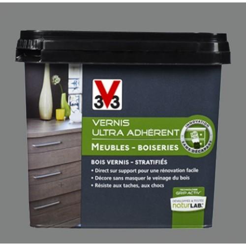 V33 Vernis Ultra Adhérent 075l Gris Souris Pas Cher En Ligne