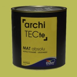 Peinture DULUX VALENTINE archiTECte Mat Absolu Titane pas ...