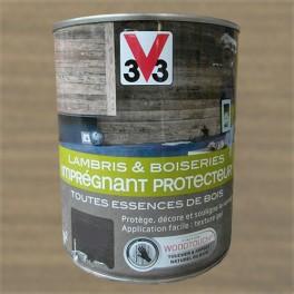 V33 Imprégnant Protecteur Lambris et boiseries Gris Taupe