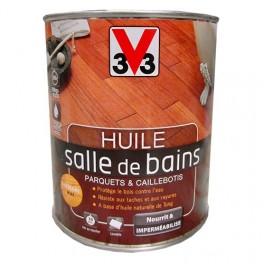V33 huile salle de bains incolore mat pas cher en ligne - Huile de tung ...
