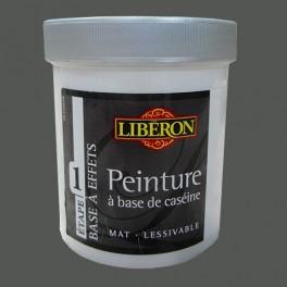 LIBÉRON Peinture à base de Caséine 0,5L Cendre
