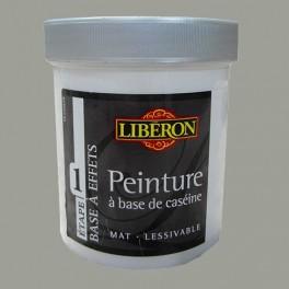 LIBÉRON Peinture à base de Caséine 0,5L Gris alpaga
