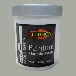 LIBÉRON Peinture à base de Caséine 0,5L Gris flamand