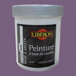 LIBÉRON Peinture à base de Caséine 0,5L Violet assoupi
