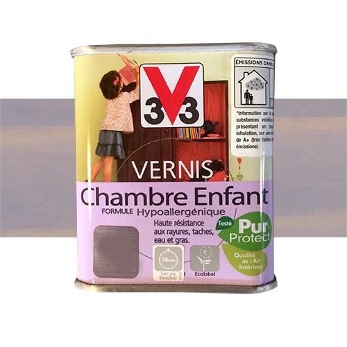 V33 vernis chambre enfant guimauve pas cher en ligne - Peinture chambre pas cher ...