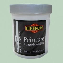 LIBÉRON Peinture à base de Caséine 0,5L Céladon