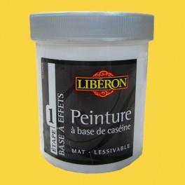LIBÉRON Peinture à base de Caséine 0,5L Brin de jaune
