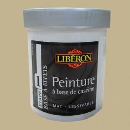 LIBÉRON Peinture à base de Caséine 0,5L Toile de jute