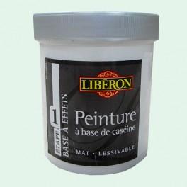 LIBÉRON Peinture à base de Caséine 0,5L Vert d'eau