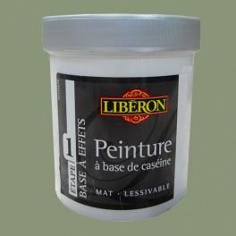LIBÉRON Peinture à base de Caséine 0,5L Vert de gris