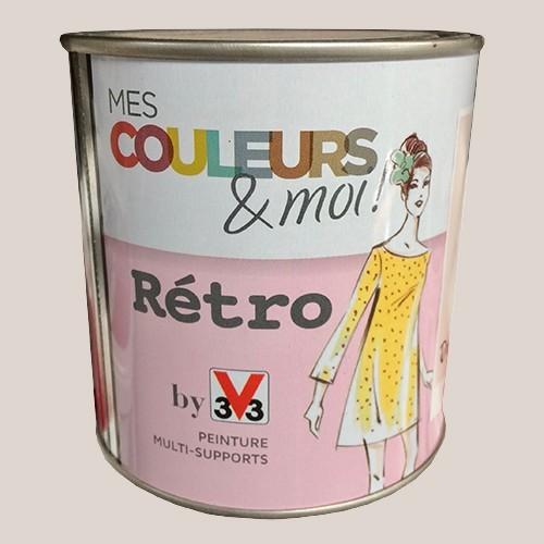 V33 Mes couleurs et moi RETRO Dragée Satin velouté