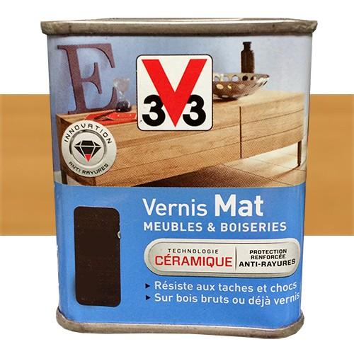 V Vernis Meubles Et Boiseries Chne Dor Mat Pas Cher En Ligne