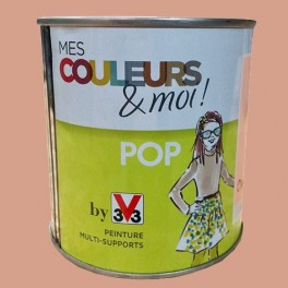 V33 Mes Couleurs Et Moi Pop Orange Fluo Satin Velouté Pas Cher En Ligne