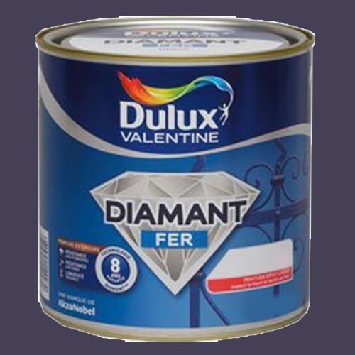 Peinture dulux valentine diamant fer gris anthracite brillant pas cher en ligne for Peinture gris brillant