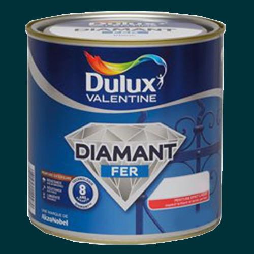 Peinture dulux valentine diamant fer vert patrick brillant for Peinture dulux valentine gris