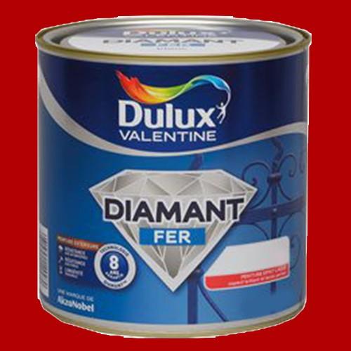 Peinture DULUX VALENTINE Diamant Fer Rouge agricole Brillant pas cher en ligne