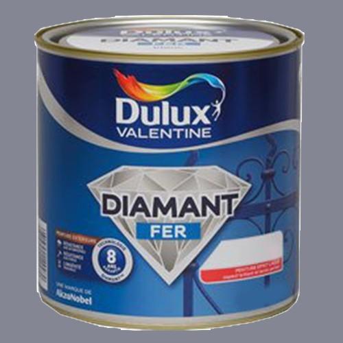 Peinture dulux valentine diamant fer gris zinc brillant for Peinture dulux valentine gris