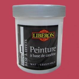 LIBÉRON Peinture à base de Caséine 0,5L Sangria