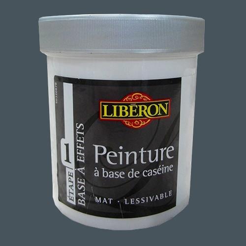 LIBÉRON Peinture à base de Caséine 0,5L Denim