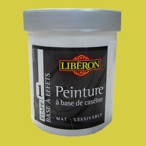 LIBÉRON Peinture à base de Caséine 0,5L Céleri