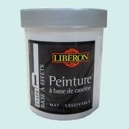 LIBÉRON Peinture à base de Caséine 0,5L Banquise