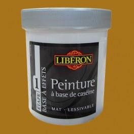 LIBÉRON Peinture à base de Caséine 0,5L Cuir Camel