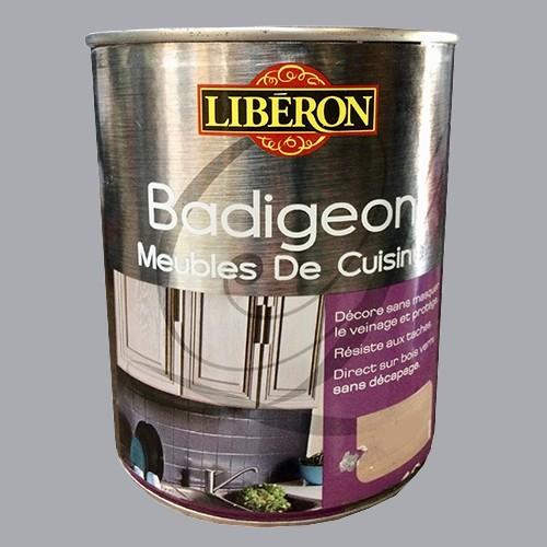 lib ron badigeon meubles de cuisine 1l fleur sel pas cher en ligne. Black Bedroom Furniture Sets. Home Design Ideas